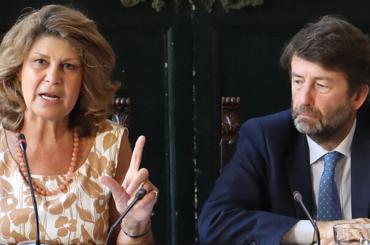 Silvia Costa e Dario Franceschini (foto da www.silviacosta.it)