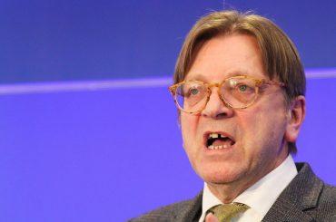 Guy Verhofstadt (foto Ansa)